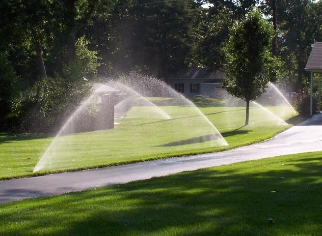 irrigation system will save water