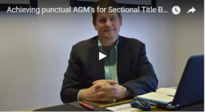 Punctual AGM'S for sectional title